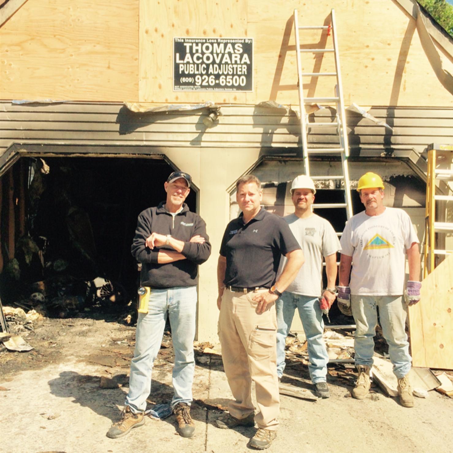 thomas lacovara and team on site